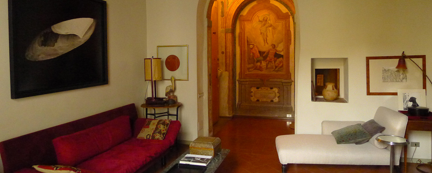 Romantic apartment on the noble floor of an 16th-century palazzo